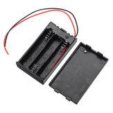 3 слота AAA Батарея Коробка Батарея Держатель платы с переключателем для 3 х ААА Аккумуляторы DIY комплект Чехол