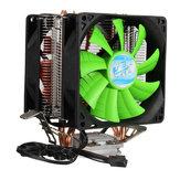 3 pinos dupla ventilador do dissipador cpu cooler para Intel LGA775 / 1150/1155 AMD AM2 / AM2 + / AM3