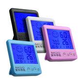 Цифровой настольный термо-гигрометр Alarm Часы LCD Температура экрана Влажность