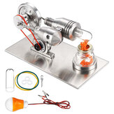 STEM Acero Inoxidable Mini Stirling Motor motor Modelo de Juego de Juguete Educativo