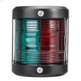12 V Marinha LED Barco de Navegação Luzes de Sinal Porto Bi-Color Estibordo Chandlery / Rib Vermelho + Verde