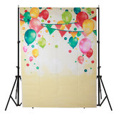 5x7FT Vinyl Colorful Balloon Photography Background Background Studio Prop