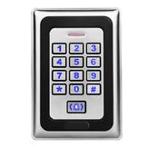 ZKTco ZK-FP881E Controle de Toque de Metal Cartão de IDENTIFICAÇÃO Senha Sistema de Controle de Acesso Atendimento Máquina