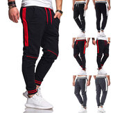 Men's Jogger Sweatpants Casual Drawstring Pants Cotton Breathable Comfortable Hiking Pants