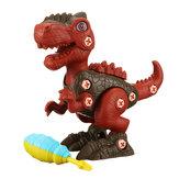 Modelo de dinosaurio realista Dino Toy Electric Taladro Figuras de juguete Juego de juegos Niños Cumpleaños Regalos de Navidad