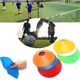 10 PCS Football Pelatihan Kecepatan Disc Cone Cross Roadblocks