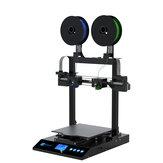 Kit de impressora 3D JGMaker® Artist-D 310x310x350 mm Volume de impressão com modos de impressão de duplicação e espelhamento / Substituição rápida do bico / Eixo Z duplo Design Detector de desgaste de filamento de suporte