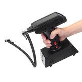 Draagbare 12V Draadloze Elektrische LCD Luchtcompressor Pomp Bal Autobanden Inflator