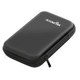 Sac de rangement Rocketek Housse de transport Protection du disque dur pour boîte de perforation pour sac de disque dur 2.5 `` HDD