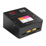ISDT D2 mark2 Upgrade Version 200W 24A AC Dual Channel Output Smart Battery Balance Charger Upgrade Version