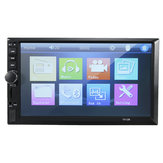 7012B 7 Pollici Doppio DIN Auto MP5 Player Radio Bluetooth stereo MP4 FM Touch Screen supporto posteriore fotografica