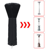 Outdoor Garden Patio Heater Dust Protective Cover Waterproof Furniture Protector Winter Heater Cover 210D Oxford Cloth