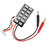 Mini JST-PH 7.4V Battery Parallel Charging Charger Board 4mm Banana Plug for Imax B6