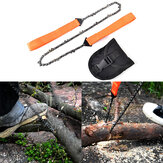 Portable Handheld Survival Chain Saw Emergency Chainsaw Outdoor Camping Hiking Wood Cutting Tool