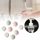 10PCS Water Melt Effervescent Tablet Hand Sanitizer With Rich Foam Super Clean Power Strong Disinfect Aloe Fragrance Washing FoamHand Sanitizer For Skin Cleaning Soap Dispenser