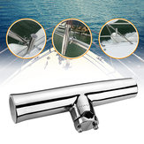 316StainlessSteel7/8''- 1 '' Tube TORCIA Rod Holder Boat Tackle Clamp On Rail Mount
