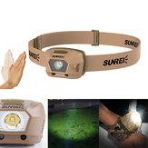 SUNREI iFishing-Li 230LM XPG3 S3 LED Smart Sensor 1800mAh Battery Rechargeable 4 Modes IPX5 Waterproof Bike Headlamp