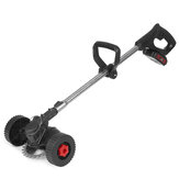 10000RMP 36VF Cordless Electric Mower String Trimmer and Edger With Wheels Grass Trimming Cutting Garden Tool