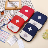 Bakeey 600D Oxford fabric Outdoor First Aid Emergency Pouch Feature Phone Medicines Pill Storage Bag Household Personal Health Care