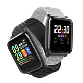 XANES® K8 1.3'' IPS Color Touch Screen Waterproof Smart Watch Heart Rate Fitness Exercise Bracelet