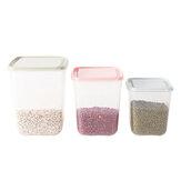 3 Adet Pembe / Yeşil / Mavi Gıda Taneleri Sebzelik Kutu Mutfak Mühürlü Saklama Kabı