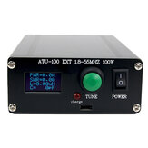 New ATU100 Automatic Antenna Tuner 100W 1.8-55MHz/1.8-30MHz With Battery Inside Assembled For 5-100W Shortwave Radio Stations