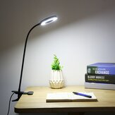 Criativo 7 W LED USB Clipe Regulável On Work Reading Light Eye-care Mesa Candeeiro de Mesa