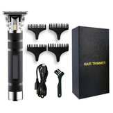 T9 Professional Hair Trimmer Rechargeable Electric Hair Clipper Men's Cordless Haircut Adjustable Ceramic Blade