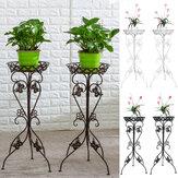 Metal Plant Display Stand Flower Pot Holder Shelf Garden Patio Indoor Outdoor