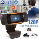 HD Digital Webcam PC Camera Recording Video Auto Focusing USB 2.0 & Microphone