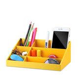 VPACK Storage Box Desk Organizer Irodaszerek tároló tolltartó 6 színes irodai iskolai kellékek