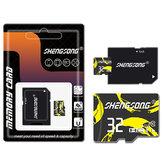 Shengsong 32GB 64GB Scheda di memoria di classe 10 con scheda di memoria TF con adattatore per cellulare GPS MP4