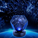 Stars Starry Sky Proyector Night Light USB Romantic Dreamlike Planetarium Lámpara
