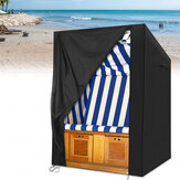 135x105x175/140cm Waterproof Beach Cork Protective Cover With Velvet Closure For Beach Chair