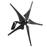 5 Blades Wind Turbine 12/24V 1000W Peak Wind Generator With Charge Controller