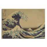 Kanagawa Surfing Poster Poster de esboço Poster de parede de papel Kraft 21 polegadas X 14 polegadas