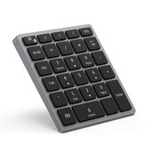28 Keys bluetooth Wireless Numeric Keyboard Rechargeable Portable Mini Number Pad Digital Keypad with Multiple Shortcut for Tablet Laptop Notebook PC Desktop