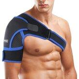 Correia de suporte de ombro ajustável de neoprene Braço superior Cinto Correia de guarda de ombro única Wrap Sports Care