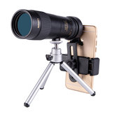 IPRee®10-30X40 Zoom Monocular HD Optic BAK4 Day Night Vision Telescope+Phone Holder+Tripod