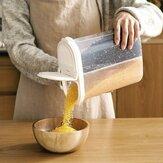 1 pcs Pot De Stockage Des Aliments Boîte 2.6L Réfrigérateur En Plastique Transparent Scellé Crisper Pot De Céréales Grain Cuisine Conteneur De Stockage