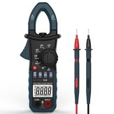 BOLYFA BF318 6600 Counts True RMS AC DC 600A Clamp Meter Current Clamp Meter Pliers Ammeter Resistance Capacitance Tester AC DC Clamp Multimeter