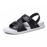 Men's Casual Thick Bottom Non-slip Outdoor Beach Sandals and Slippers