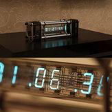 組み立てられたIV  -  18蛍光管の時計6リモートコントロール付きデジタルディスプレイアルミニウム合金エネルギーピラー