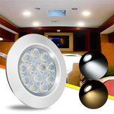 DC12V 3W 12 LED Spot Cabinet Light Interieurlamp Voor Transporter Van Boat Car RV