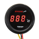 Universal Motorcycle LCD Digital Instruments Thermometer Temperatura Temp. Wody