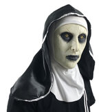 Horror Mask Halloween Nun Cosplay Unheimlich Vollkopfmaske Latexmaske Party
