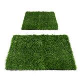 Tapete de carpete de relva verde artificial Tapetes de relva artificial para jardim doméstico micro paisagem