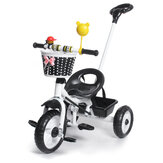 3 Wheels with Pedal Kids Tricycle Baby Stroller Junior Walker and Beginner Rider Training Children Bike for 1-6 Years Old