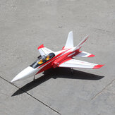 TAFT Hobby TD-05A Red Super Scorpion 1260mm Envergadura Dutos 90mm EDF Jet RC Avião Kit com trem de pouso retrátil