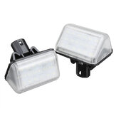 2pcs 18 LED License Number Plate Light Lamp No Error For Mazda CX-5 CX-7 Speed 6